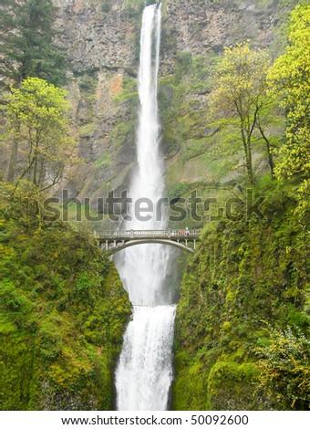 Multnomah Falls - stock photo