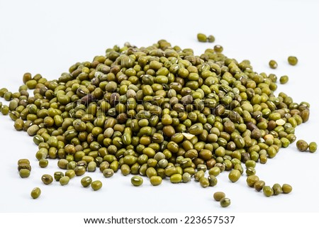 Mung beans - background - stock photo