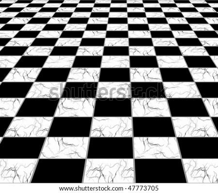 Murble tiles floor - stock photo