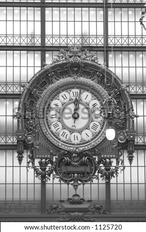 Musee d'Orsay, Paris, France - stock photo