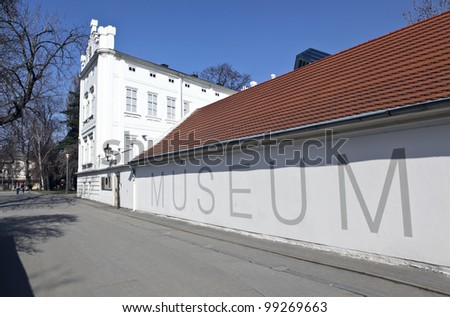 Museum in Prague, Czech republic - stock photo