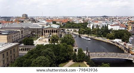 Museum Island in Berlin - Germany - stock photo