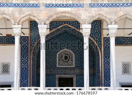 Museum of Islamic Art (Tiled Kiosk), Istambul, Turkey - stock photo