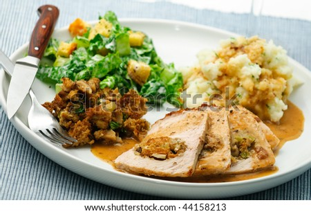 Stock Images similar to ID 140712148 - roast pork sunday dinner with ...