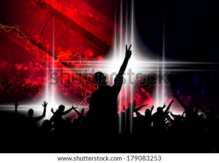 Music event background  - stock photo
