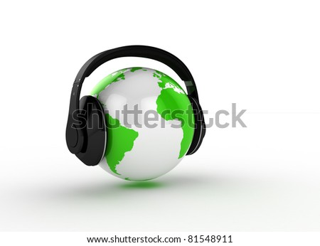 music for all - stock photo