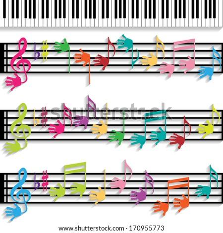 Music for Children - stock photo