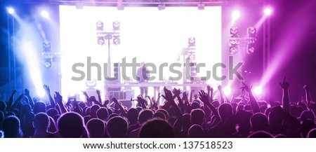 Music Party - stock photo