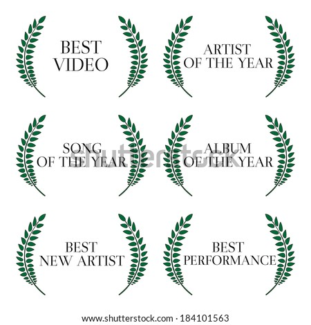 Music Video Awards Categories 1 - stock photo