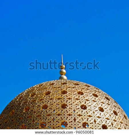MUTRAH ARABIC ARCHITECTURE - stock photo