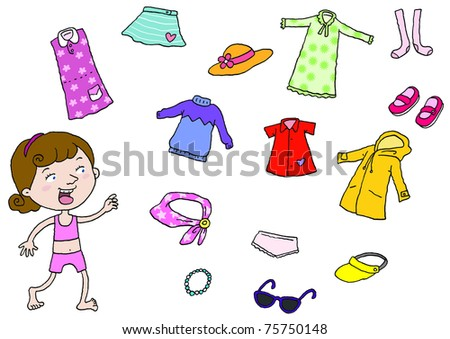 My Clothes - stock photo