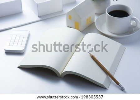 My home plan - stock photo