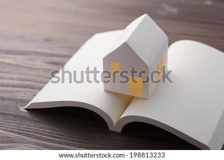 My home plan - stock photo