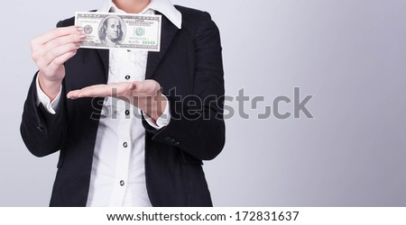 My money  - stock photo
