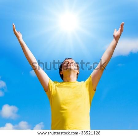 my sun - stock photo