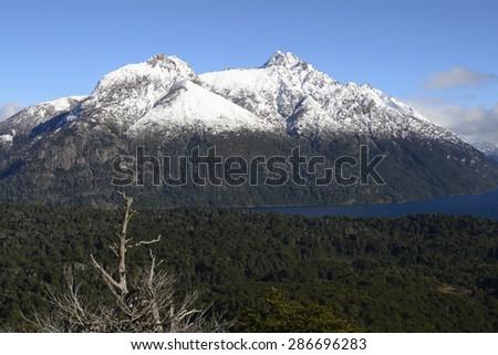 Nahuel Huapi National Park, San Carlos de Bariloche, Patagonia, Argentina. - stock photo
