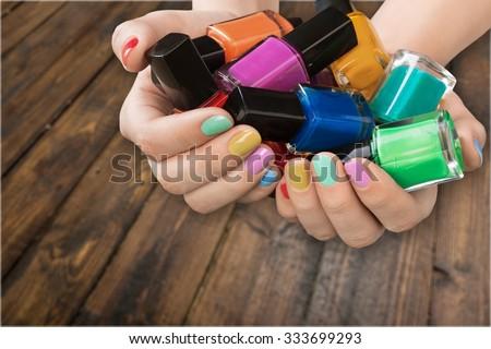Nail. - stock photo