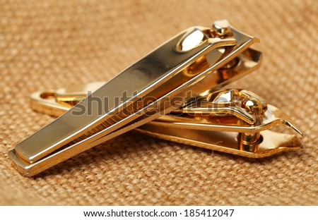 Nail clippers - stock photo
