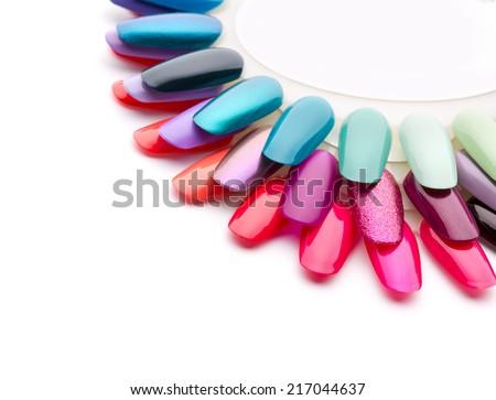 Nail varnishes - stock photo