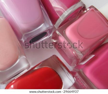 Nails polish - stock photo