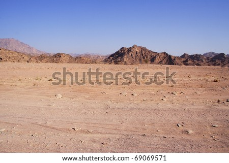 Namibia desert, Egypt - stock photo