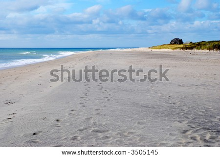 Nantucket Beach - stock photo