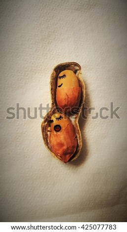 nap peanut - stock photo