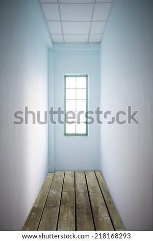 narrow space - stock photo