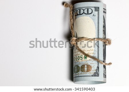 Narrowing down in spending - stock photo