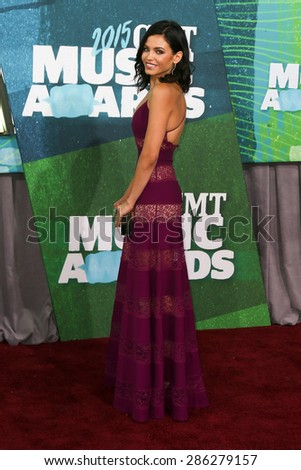 NASHVILLE, TN-JUN 10: Actress Jenna Dewan-Tatum attends the 2015 CMT Music Awards at the Bridgestone Arena on June 10, 2015 in Nashville, Tennessee. - stock photo
