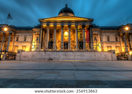 National Museum in London, UK. - stock photo
