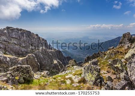 National Park - High Tatras (Carpathians) - stock photo