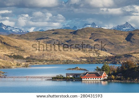 National park Torres del Paine, Patagonia, Chile - stock photo