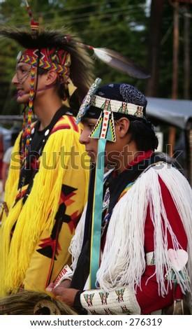 Native American Boys - stock photo
