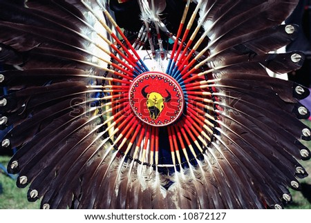 Native Indian Ornament - stock photo