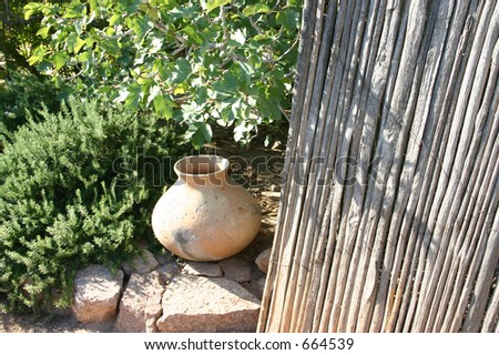 Native Pot - stock photo