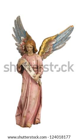 nativity figurines - stock photo