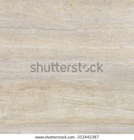 Natural beige travertine marble - stock photo