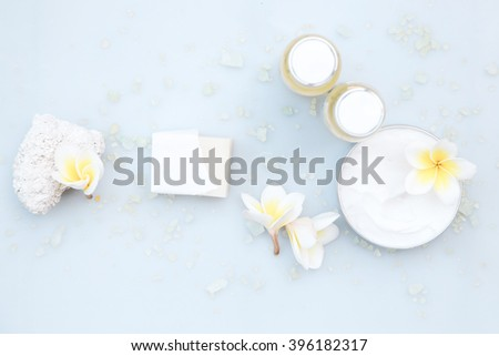 Natural cosmetics - stock photo