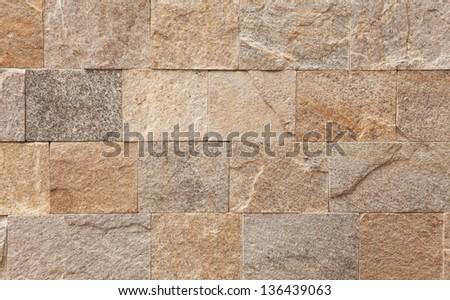 Natural dark beige marble pattern, close up shot - stock photo