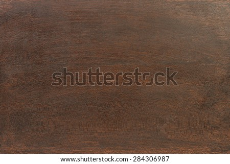 Natural dark brown wooden background or texture - stock photo