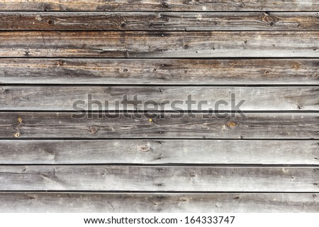 Natural Dark Hardwood Background - stock photo