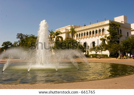Natural History Museum Balboa Park San Diego California USA (exclusive at shutterstock) - stock photo