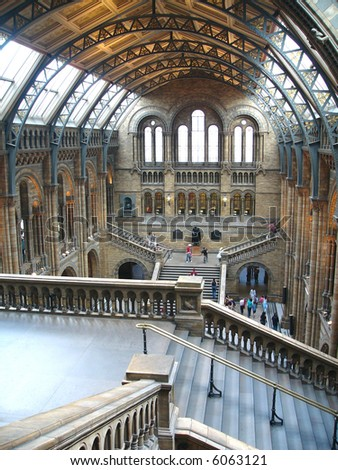 Natural History Museum, London - stock photo