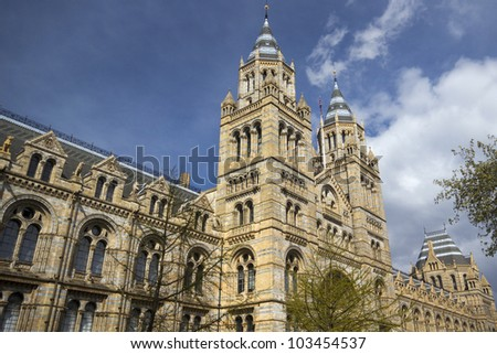 Natural History Museum, London, England - stock photo