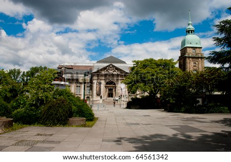 Natural histoy museum Darmstadt - stock photo
