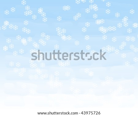 natural ice - stock photo