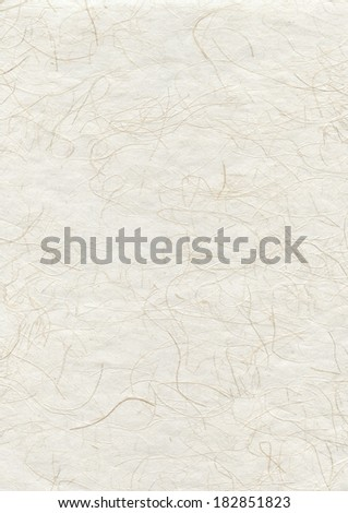 Natural japanese recycled paper texture background - stock photo