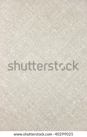 Natural Light Linen Texture, Detailed Closeup, rustic vintage linen textured fabric burlap diagonal canvas pattern background in tan, beige, yellowish, grey, vertical copy space - stock photo