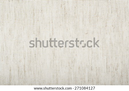 Natural Light Linen Vertical Texture, Detailed Closeup, vintage old textured fabric burlap, rustic background in tan, beige, yellowish, grey, Canvas Macro Pattern Copy Space - stock photo